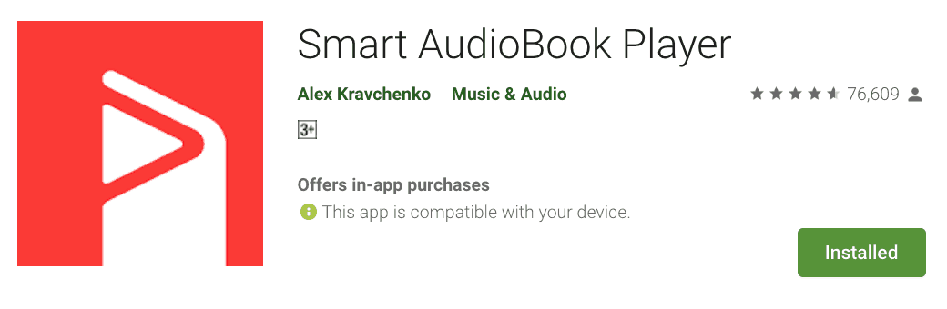 Android Audiobook Player